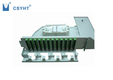 120FO 3U ODF Fiber Optic Patch Panel Rack Mount Rotary Type 440x396.2x131.9mm