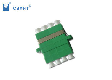 Quad LC Type Fiber Optic Connectors Good Repeatability High Wearable For CATV System