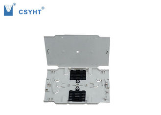 FTTH Box  Fiber Optic Tray , 12 Fibers Fiber Optic Cable Tray For Patch Panel