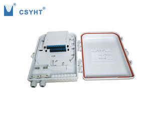 16 port FTTH box with plastic splitter cassette for loading PLC splitter