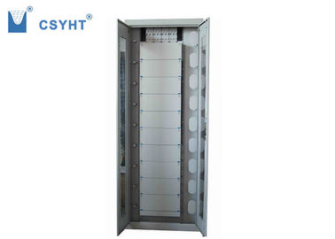 China 2M 19 Inch ODF Fiber Optic Cabinet , Indoor Fiber Optic Distribution Cabinet supplier