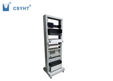 Cold Roll Steel 36U Fiber Optic Cabinet , Fiber Optic Termination Cabinet