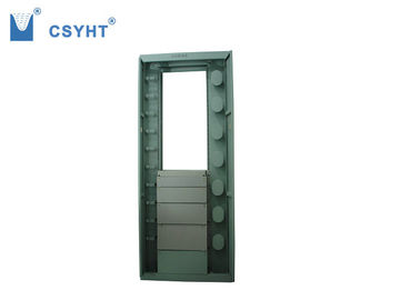 Front Two Small Doors Optical Fiber Distribution Frame 2M 35U Height ODF Load Patch Panels