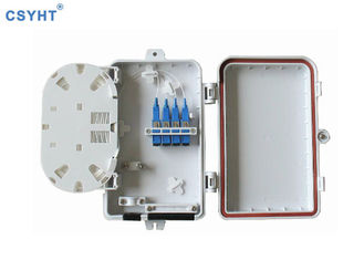 8 Cores Outdoor Waterproof Termination Box IP65 For Fiber To Home Project